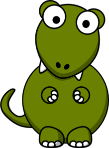 Dinosaurs clip art free clipart images clipartcow
