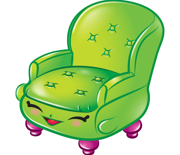 Comfy chair art official shopkins clipart free image