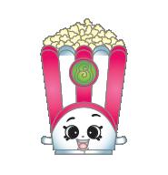 Shopkins popcorn. Clipart free image