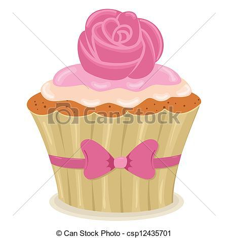 vector valentine s day cupcake stock illustration royalty free jKSRYi clipart