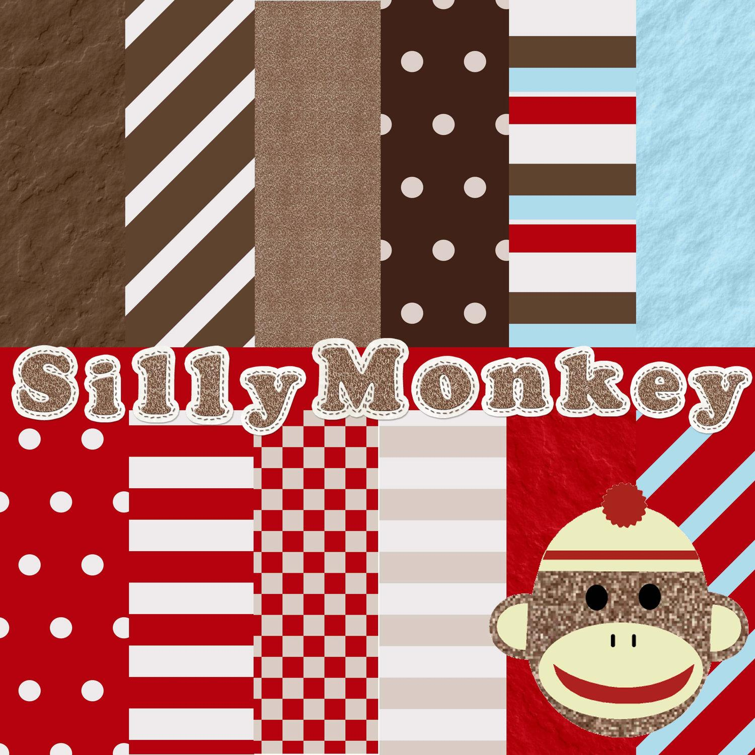 seasonal happy valentine sock of monkeys viewed because it on ed1s4S clipart