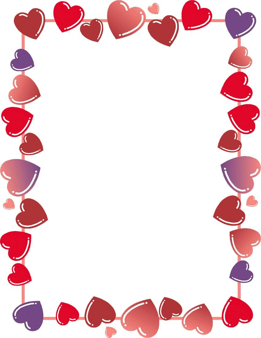 heart border http www wpclipart com holiday valentines valentine RP2pP7 clipart