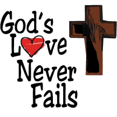rooted and growing god s love never fails a true valentine xbWyP7 clipart