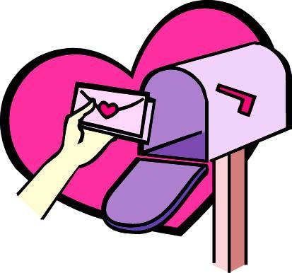 mailbox cute valentine mail clipart clipart kid rh clipart info