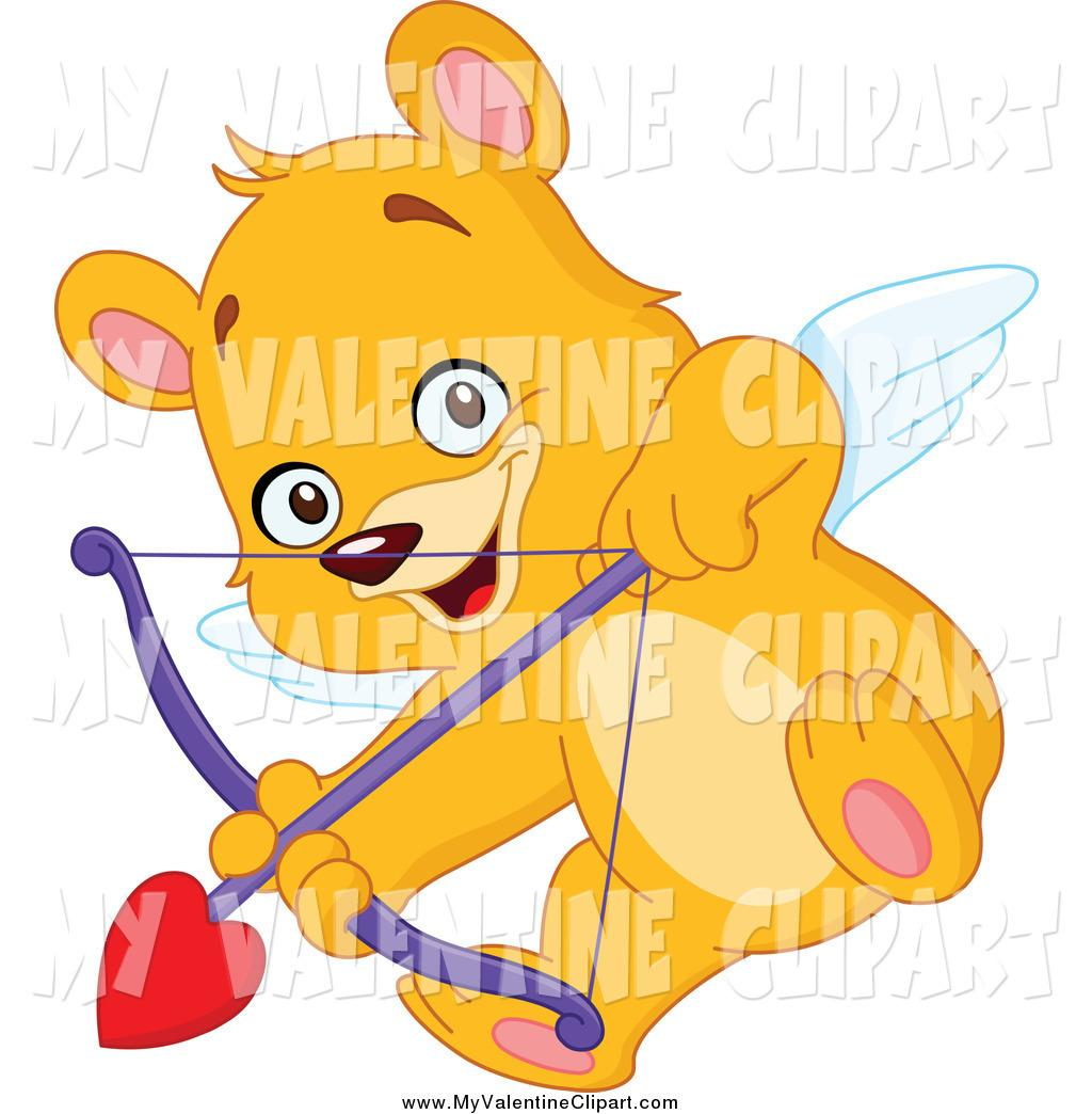 valentine clipart of a cupid teddy bear aiming an arrow by yayayoyo b9n5Ll clipart