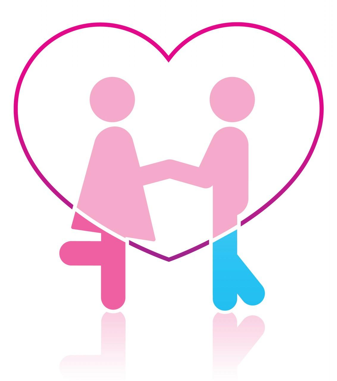 two people in love clipart girlfriend clipart Couple in Love