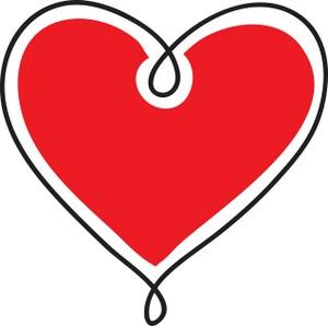 Hearts free clip art of a red heart danasrhp top