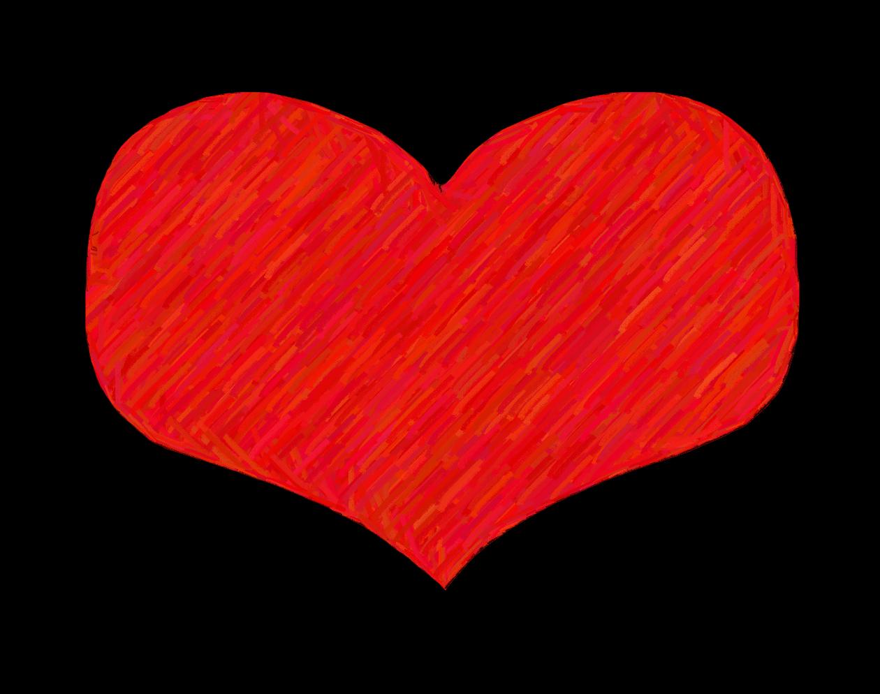 Line Art Love Heart : Clip art images image