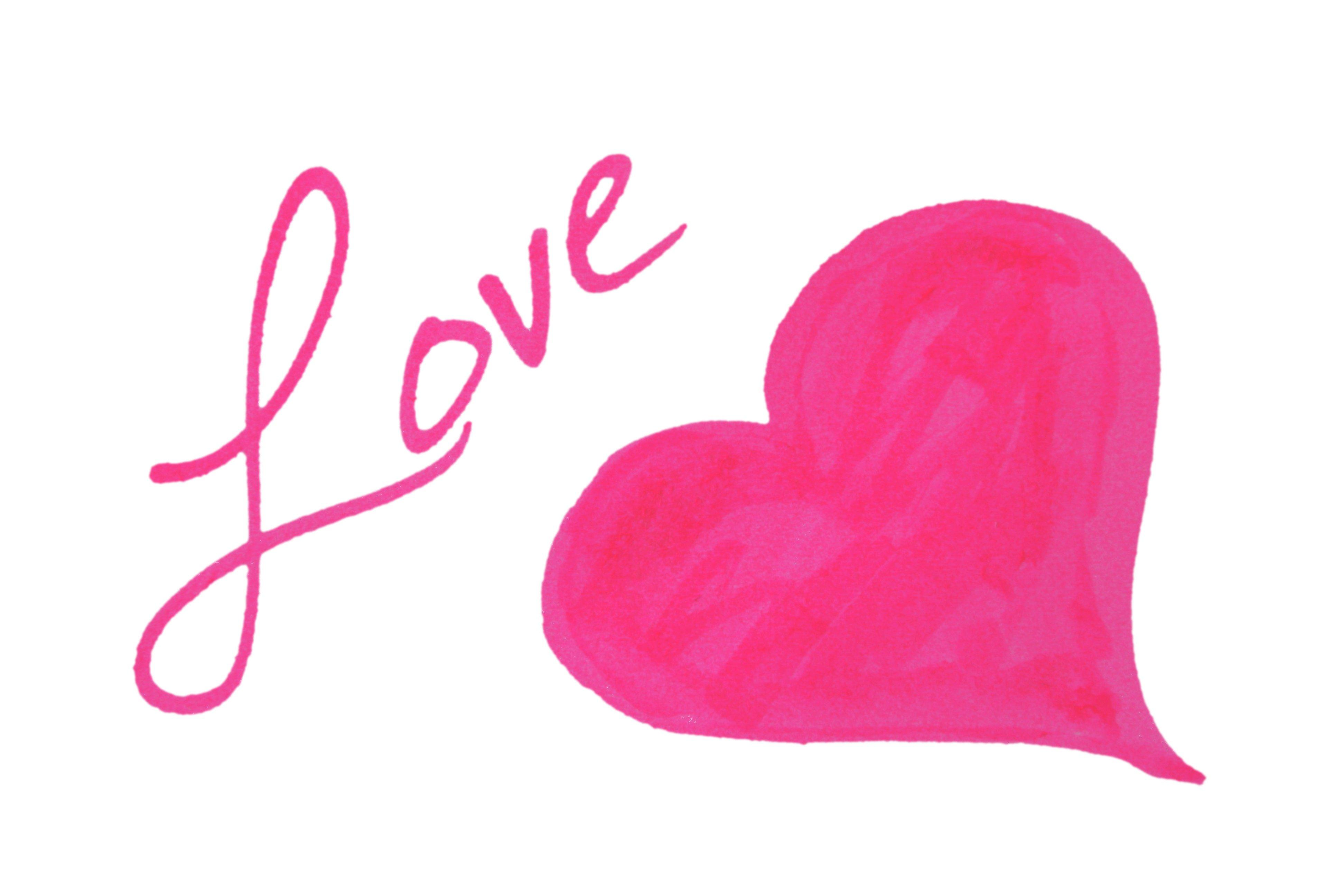 Hearts clip art pink heart free clipart images