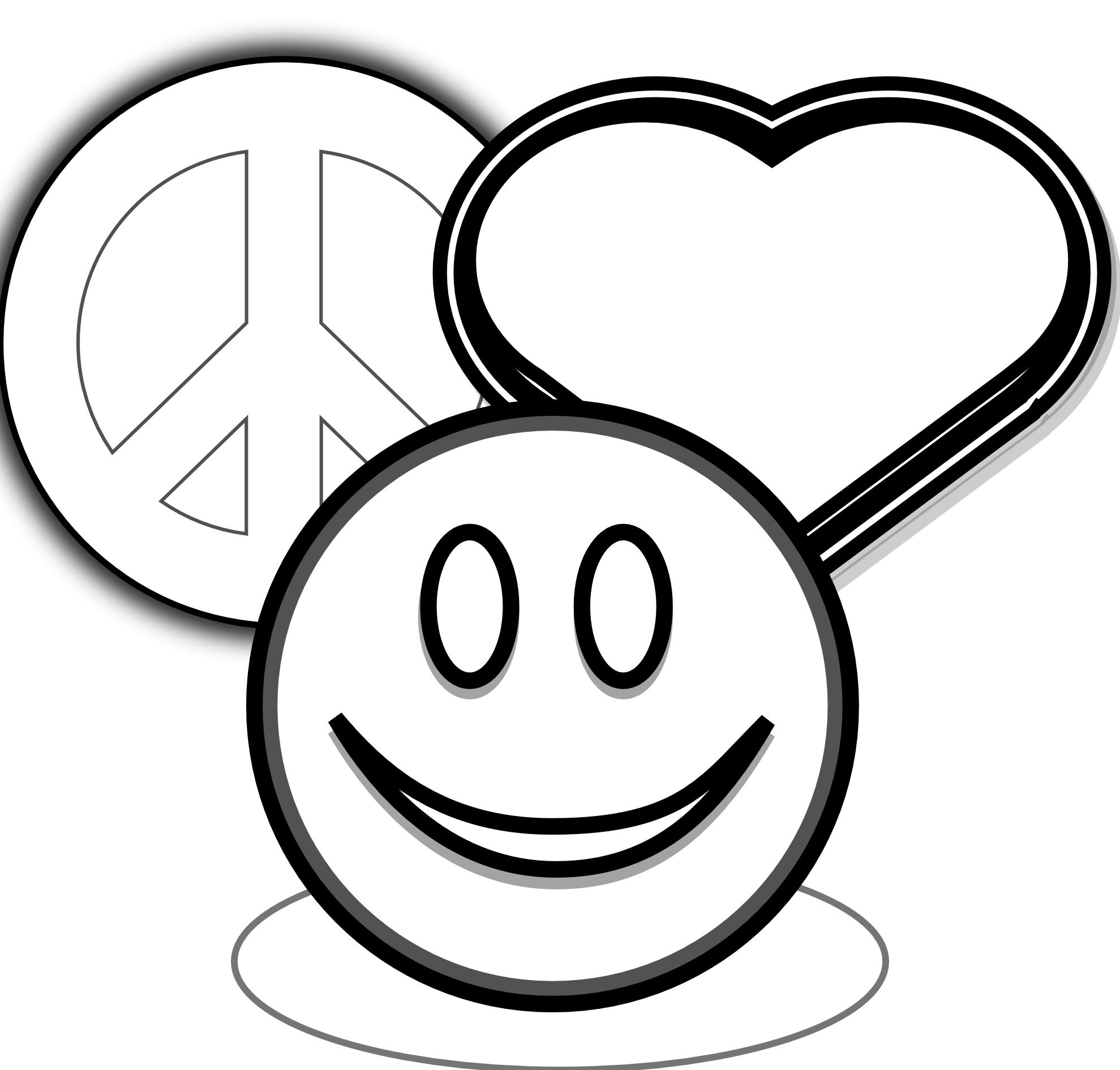 coloring pages of peace signs and hearts clip art peace love and 1tz4zg clipart