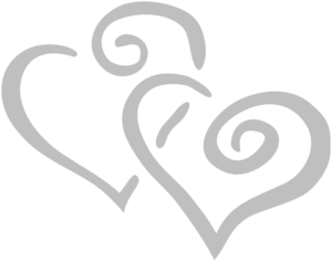 silver intertwined hearts clip art at clker com vector clip art PNFLGS clipart