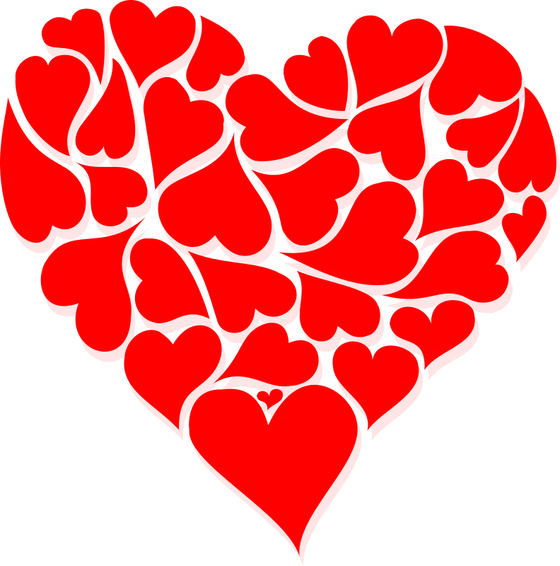 valentine hearts clip art valentine week 6 2 rh clipart info clipart of hearts free clipart of hearts free