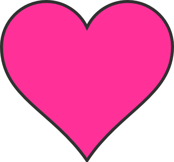 Pink Hearts Clipart Free Clipart Images