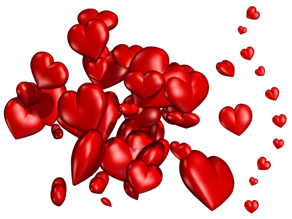 hearts png stock by jumpfer