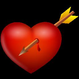Arrow And Heart Icon