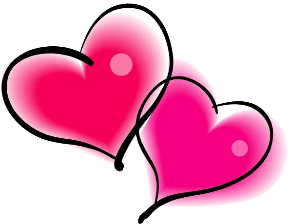 double pink heart png rh clipart info double heart clipart wedding double heart clipart wedding