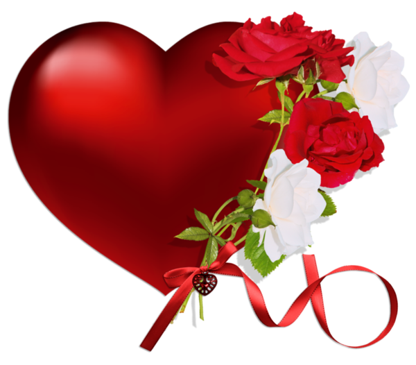 Heart with roses png - Pics of roses and hearts ...