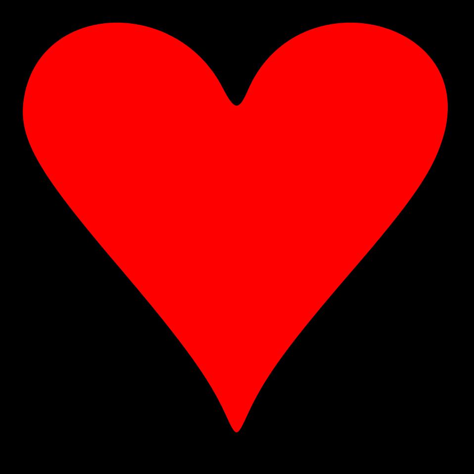 Emoji Illustration Of A Red Heart Pv