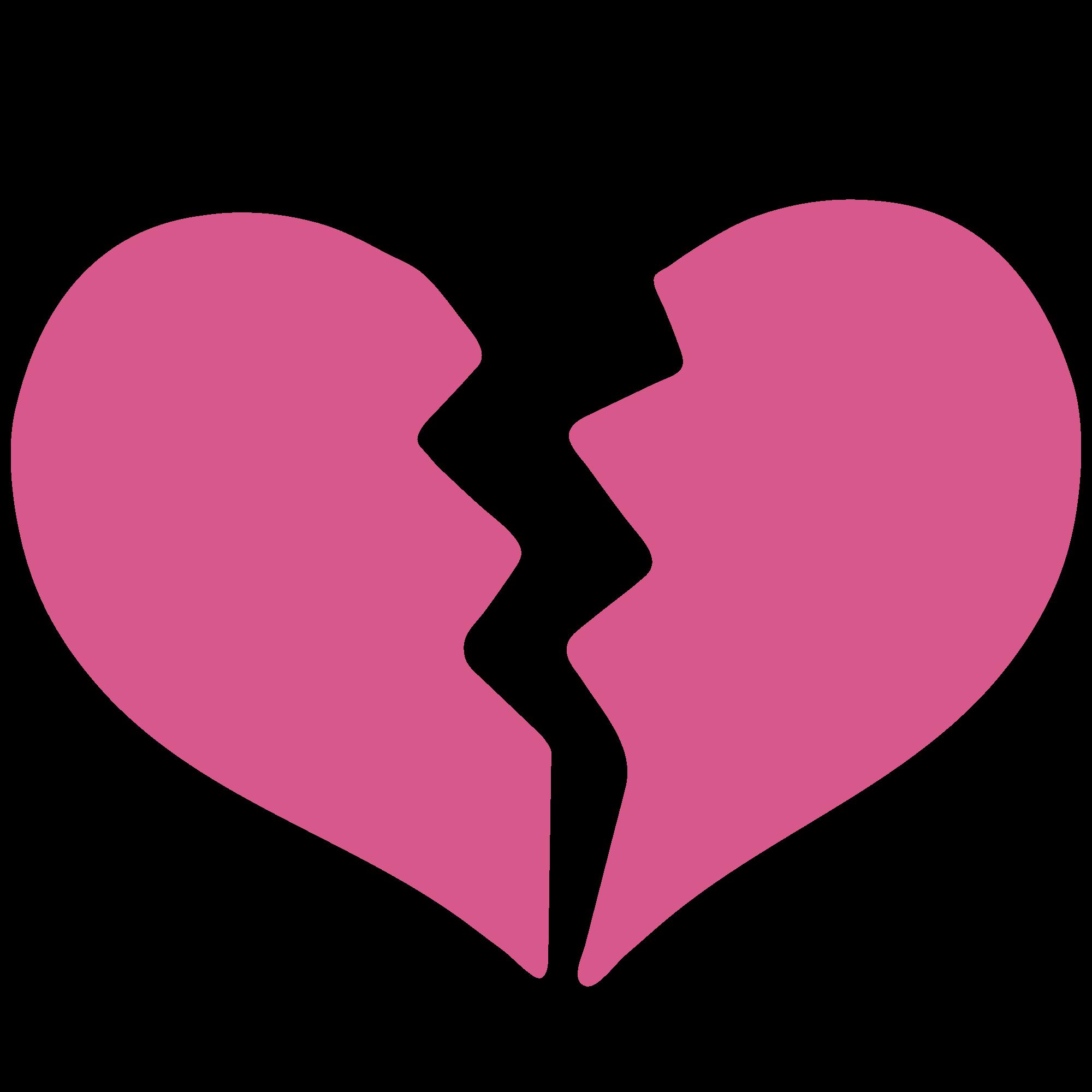 Emoji Heart Break Png