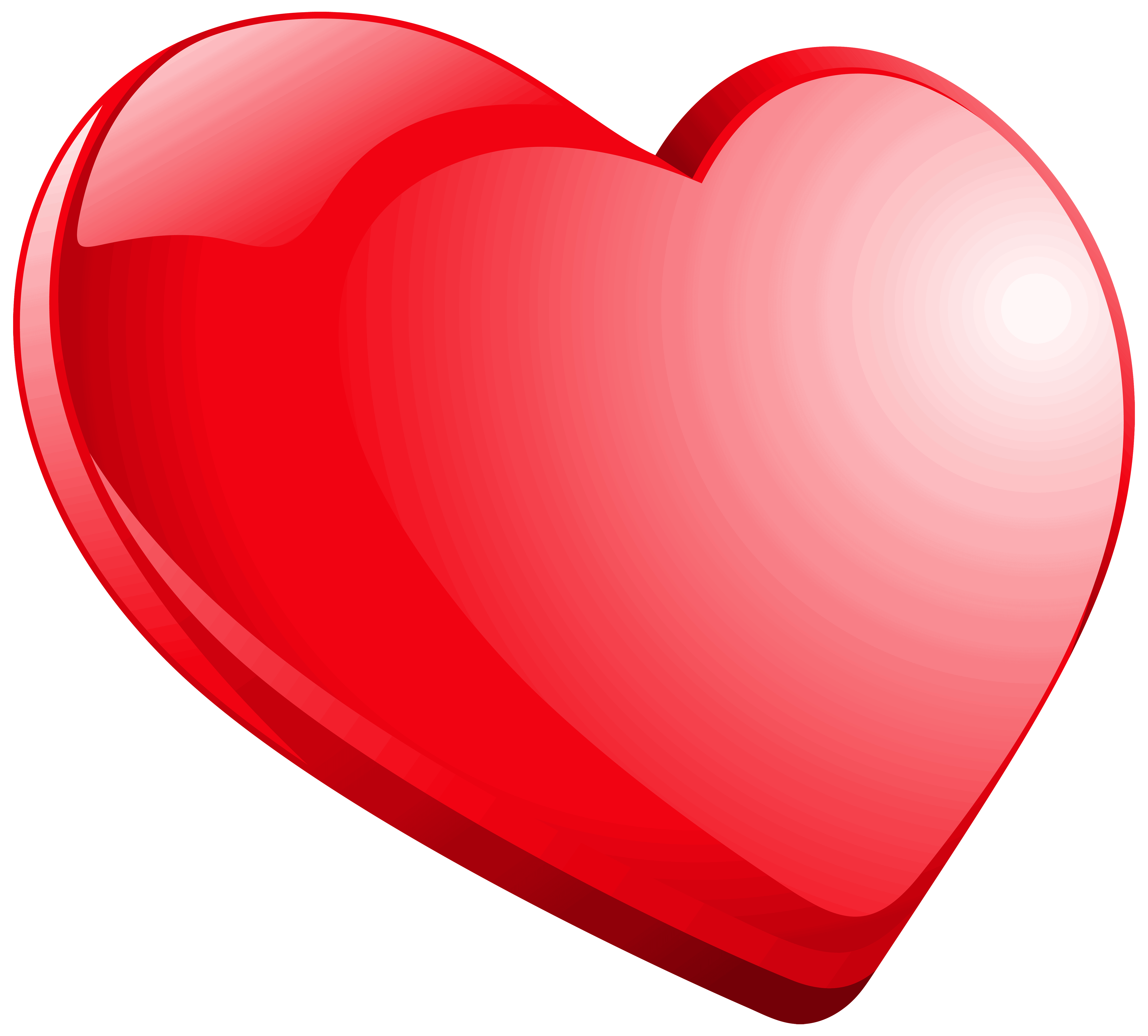 Heart Red PNG clipart