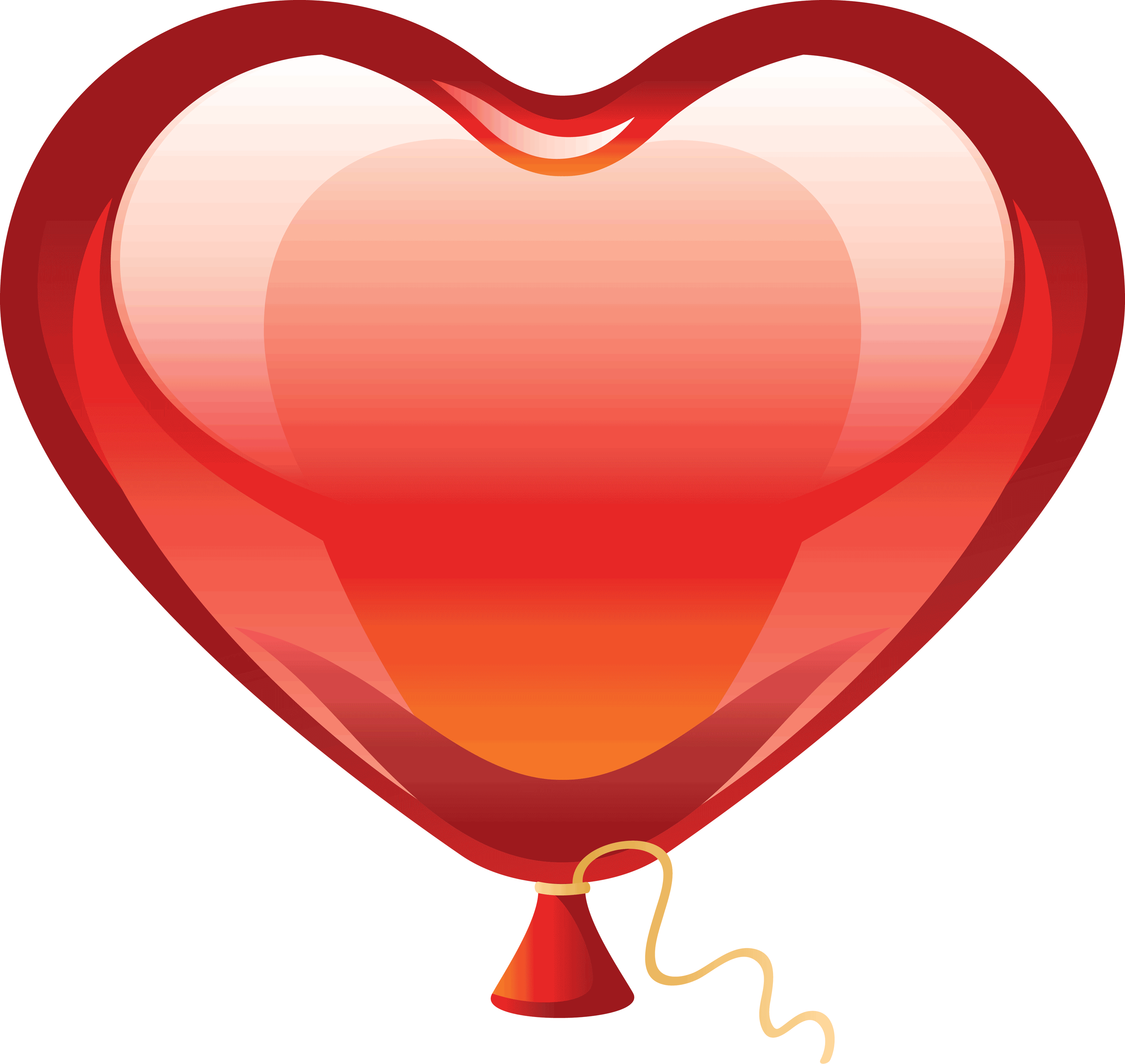 heart png clipart balloon