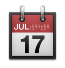 ios emoji tear off calendar