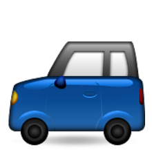 ios emoji recreational vehicle
