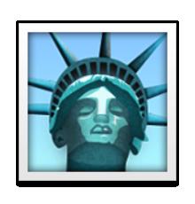 Ios Emoji Statue Of Liberty