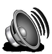 Ios Emoji Speaker With Three Sound Waves