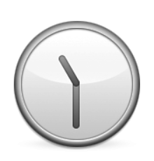 ios emoji clock face eleven thirty