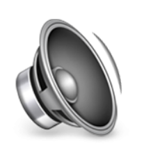 ios emoji speaker with one sound wave
