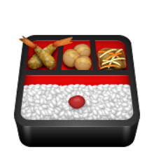 ios emoji bento box