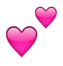 Ios Emoji Two Hearts