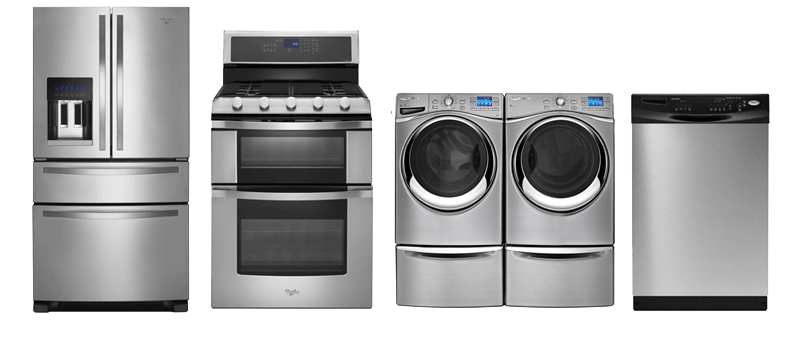 4 Home Appliances Png