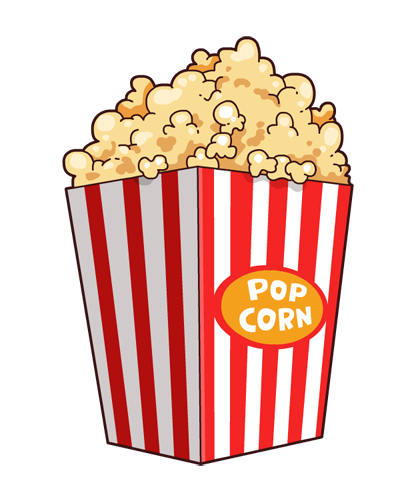 Popcorn free to use cliparts