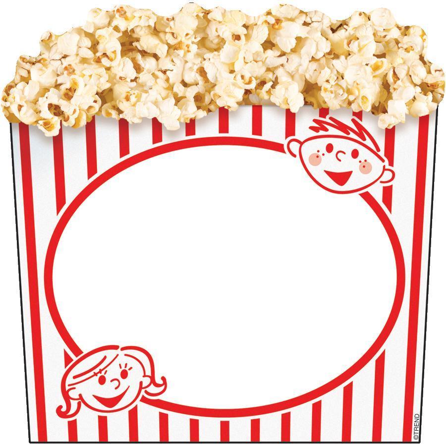 Popcorn Border Writing Paper Clipart Panda Free Clipart