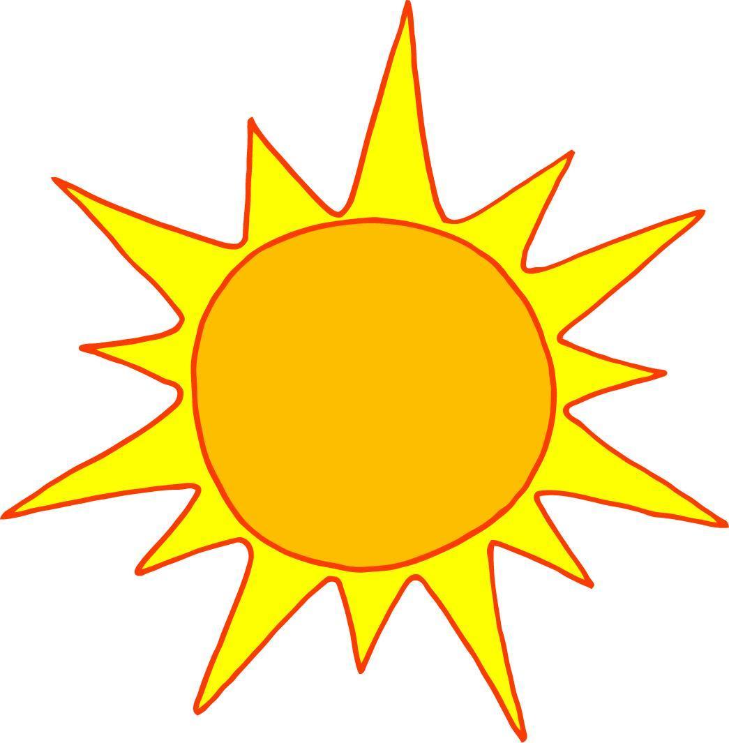 Sunshine Half Sun Clipart Free Clipart Images 3