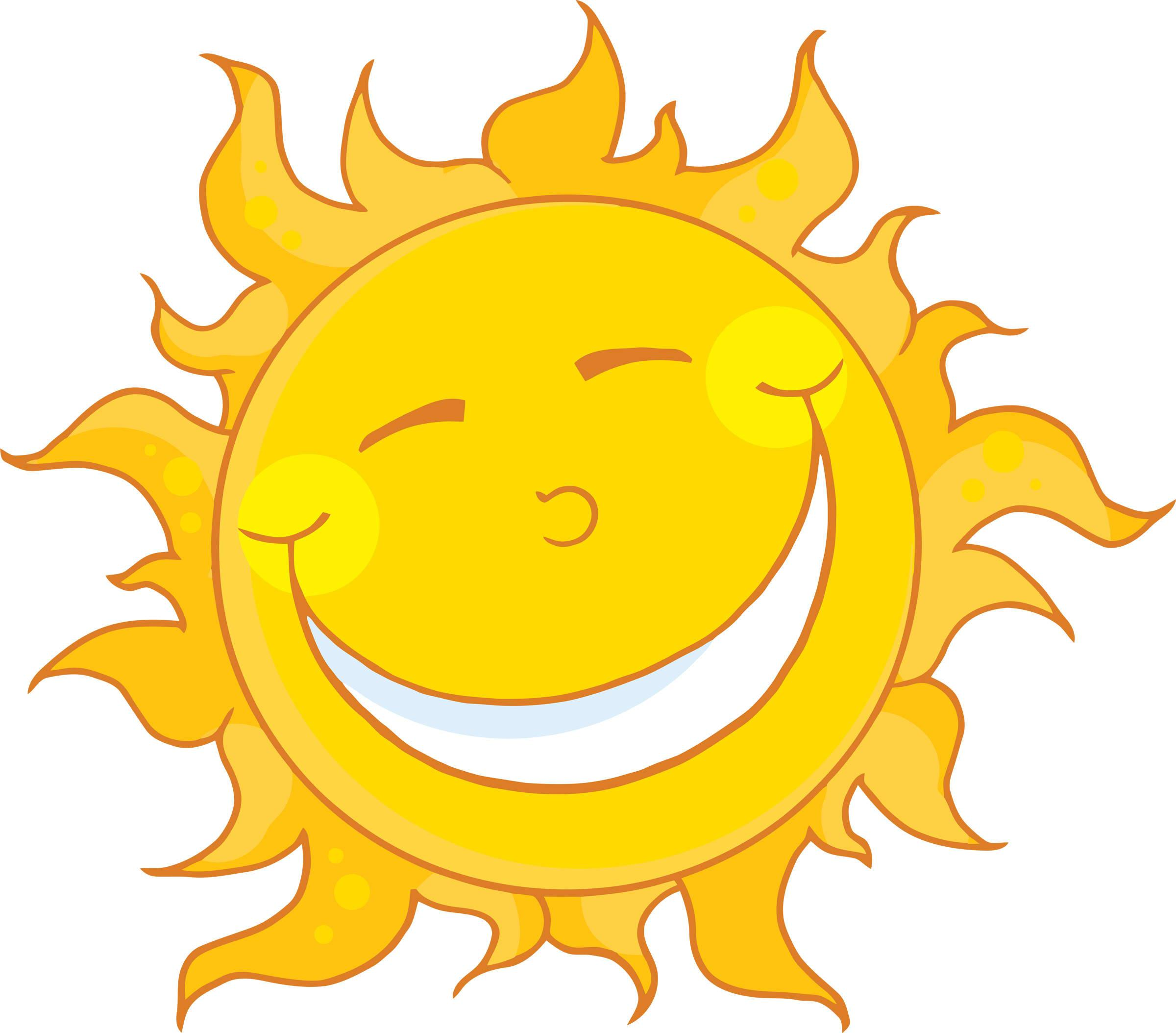 sunshine happy sun clipart rh clipart info sunshine clip art footers sunshine clip art images
