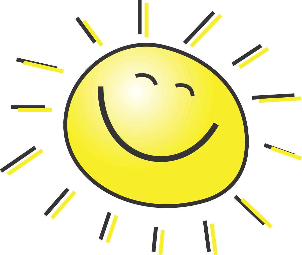 sunshine cute sun with sunglasses clipart free clipart images rh clipart info