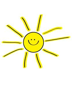 Sunshine free sun clipart to decorate for parties craft projects websites