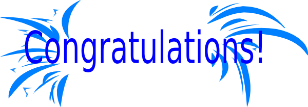 Congratulations clipart animated free free 3