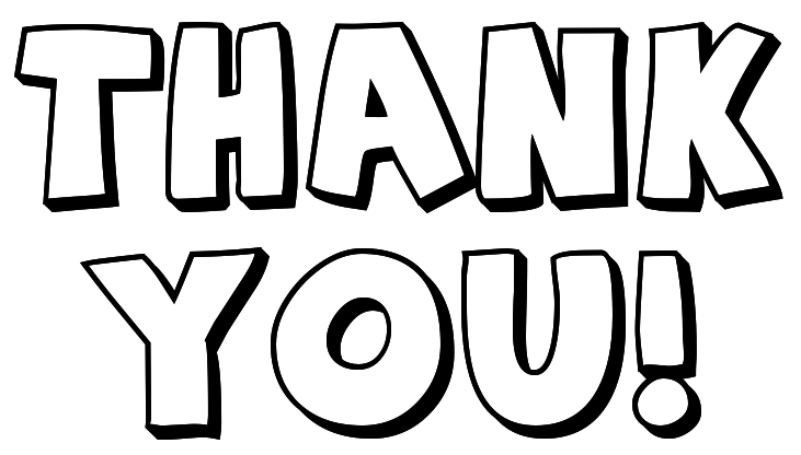 note big outline signs symbol words thank you thank you note big