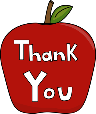 thank you apple image thank you apple clip art fwgwr2 clipart rh clipart info clip art for thank you note from a child clipart for thank you cards