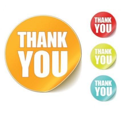 thank you clip art round stickers free vector in encapsulated l6sXp3 clipart