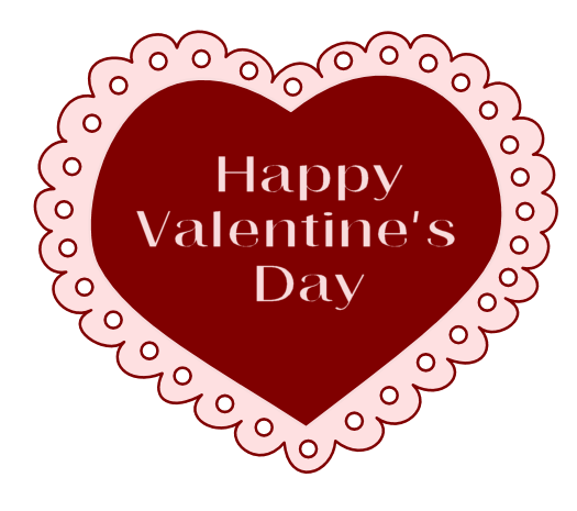 valentine lace clipart
