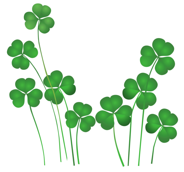 Shamrock saint patricks day clipart love you sweetheart