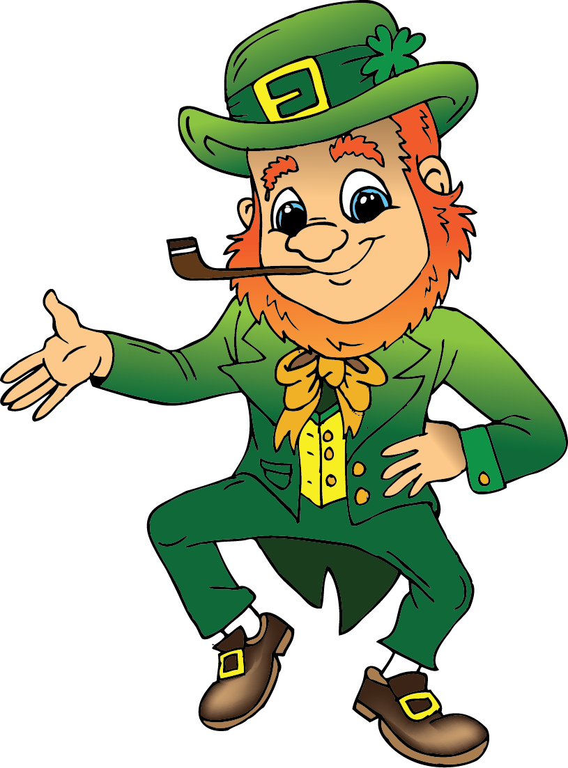 st patrick s day and today my little leprechaun smiles benignly and 4ZsEB0 clipart