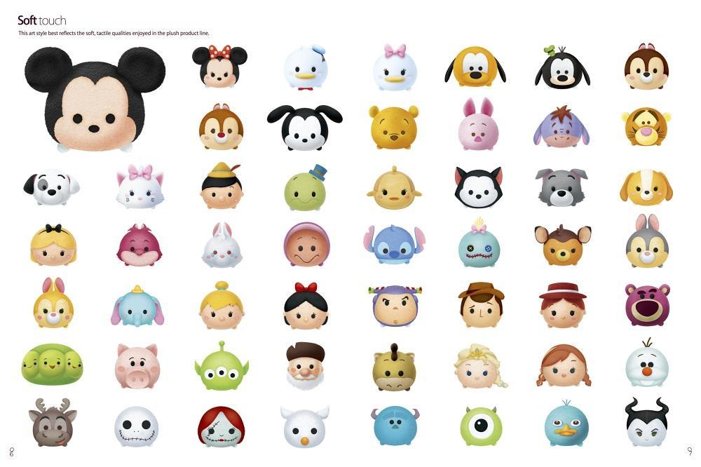 Coloreando El Tsum Tsum De Minnie Aprende A Colorear: Disney Tsum Tsum Soft