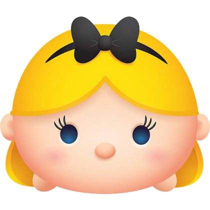 TsumTsum FAT HEAD Alice