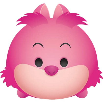 TsumTsum disney png FAT HEAD Cheshire